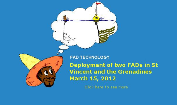 Deployment of FADs in Saint Vincent